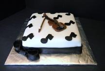 바이올린 케이크,쿠키