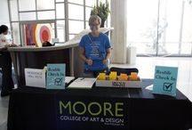 Orientation 2015 / And so it begins.  / by Moore College of Art & Design