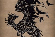 black raven dragon