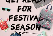 Festival Collection / Festivals are coming. Time to get going.