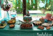 tina : mady's mermaid party ideas