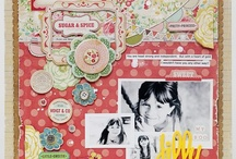 scrapbooking - layout love