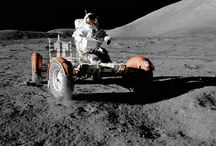 """Space, the """"new"""" frontier / Astronautas y cosas del espacio"""
