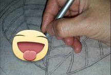Diseños . / Diseños para laborar a bolillos.