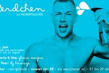 2016 June 22 Seepferdchen @ Haubentaucher powered by GMF / Seepferdchen @ Haubentaucher powered by GMF ──────────────────────────── 17 Uhr: Pool Party & BBQ – DJGloria Viagra 21 Uhr: Dance Floor – DJ krs.age ──────────────────────────── RAW-Gelände Revaler Str. 99 Bahnhof Berlin Warschauer Straße ──────────────────────────── €7 bis 20 Uhr, danach €10. ──────────────────────────── Bei schlechtem Wetter eine Woche später. Weitere Termin: 27.07. und 24.08.