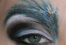 Peacock makeup inspo