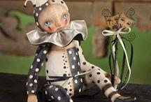 Клоуны, Арлекины, Пьеро / мои любимые персонажи