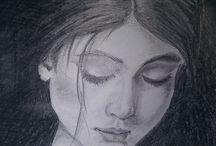 kresba tuzkou