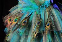 Peacock celebration