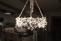 Lighting ~ Lamp Rentals / Never enough Ambiance!  Chandeliers, Light Strings, Lamps,