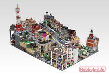 Городские кварталы,Cities blocks