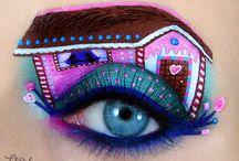 Occhi con disegno