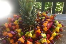 Vassoi di frutta