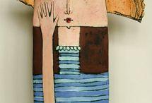 art other - CERAMICS & ( clay - fimo- etc ) - S