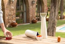 ÁLSOL / The only pitcher designed for sangria, allowing the serving of the fruit in the same product once the drink is finished.