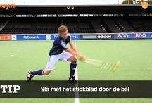 Hockey.nl-basistechnieken / Dertien video's waarin de hockeytechnieken centraal staan.  / by hockey .nl