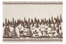 Christmas Holiday Placemats & Napkins