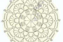 carpetas preciosas / carpetas tejidas en crochet