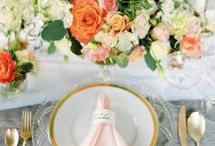 Peach / Peach Inspired weddings