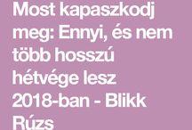 Ünnepnapok 2018
