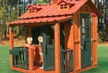 Kid's Outdoor Playhouses & Toys