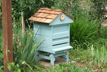 Bee hives / Beehives can be an interesting, if a little quirky, feature for a large garden, with the added benefit of your very own honey.
