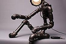 Lampa z elektroniką