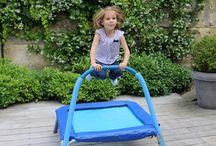 Trampolines Bébés & Enfants / Découvrez nos trampolines destinés aux bébés et aux enfants.  Disponible sur notre site www.france-trampoline.com