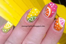 nail art fruit summer