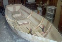 Plywood boats
