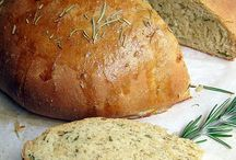 recipes for homemade breads / nothing smells better than fresh bread baking / by Nisa Deeves
