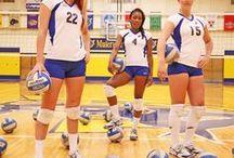 Sport team poses