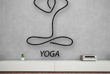 yoga dekorasyon fikirler