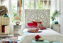 home: boho style