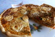 Savory Tarts & Pies, Pizzas, Quiches