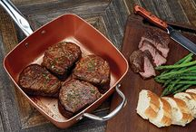 Copper Chef Foods / Look at all the delicious and simple dishes you can create in your Copper Chef nonstick pan!