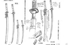 Drawing references - weapons