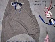 Clothes / Cool ways to make use of old clothes, and turn them into something new!