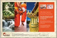 Packages & Offers / www.villa-maly.com Get an update of promotions and packages from the best hotel in Luang Prabang Villa Maly.