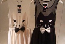 Feline-inspired Fashion / Clothing, jewelry and accessories for the discerning cat lover.