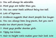 Short Girl Perks