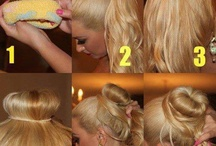 Hair Styling Tips / by Ms Scarlett Makeup and Hair Artist/Funny Bunny Entertainment