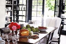 farmhouse dinning / by Carrie Fitzwater