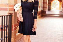 Petites robes noires ! / Des petites robes noires de tous les styles, couture ou non... Et juste un peu de bleu !!! / by Sakina Bret