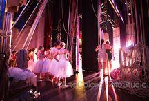 foto di danza - dietro le quinte / uno spettacolo di danza visto da dietro le quinte