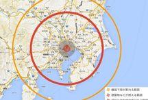 核が東京に落ちた際の影響