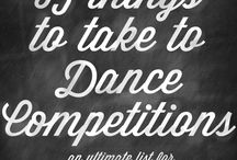 Competition and show ideas
