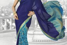 #Beautiful new design #Pure Silk sarees with rich intricate #hand #embroidery
