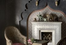 Moroccan Fireplaces