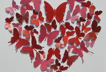 Mariposas / Hechas en papel